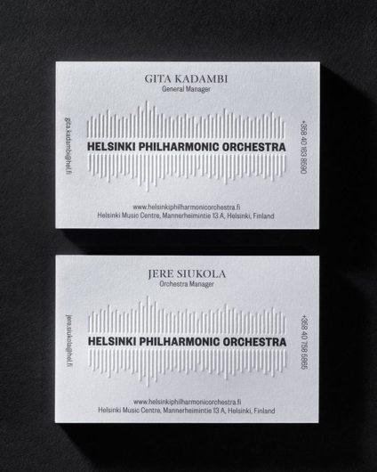 sound wave business card