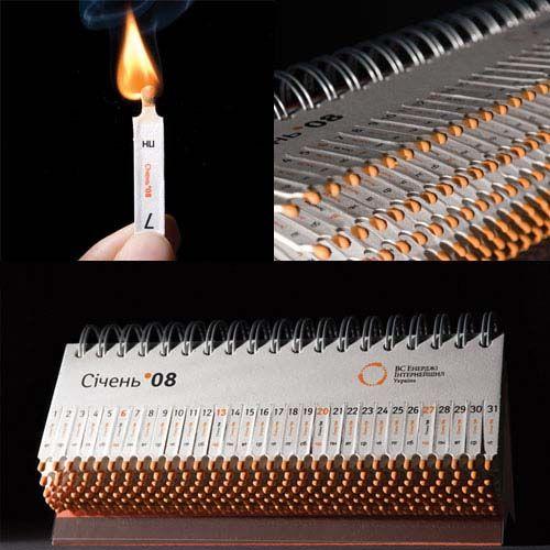 matchstick creative calendar