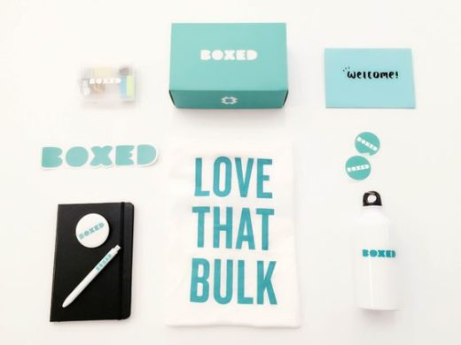boxed welcome kit
