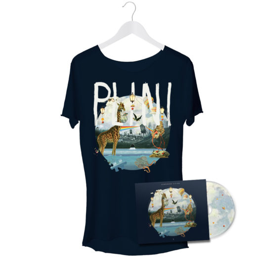 Plini vinyl shirt bundle merch