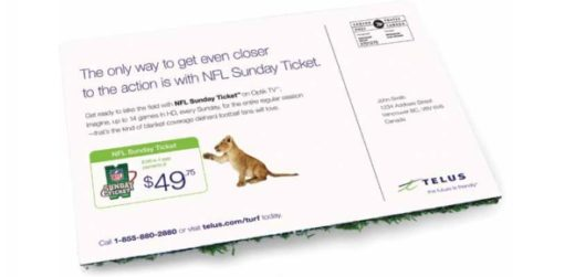 telus direct mailer