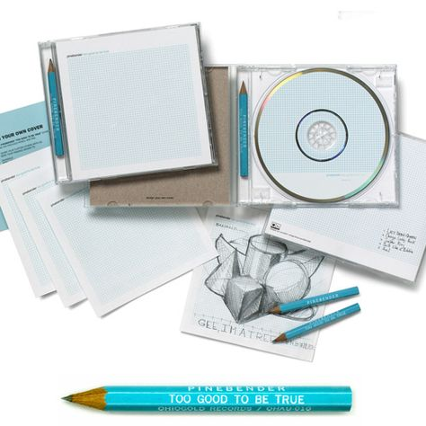 cd packaging design clear CD