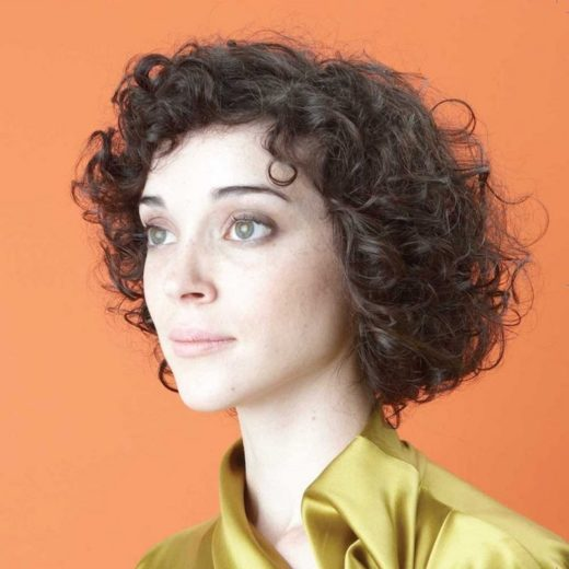 cd artwork- portrait- St. Vincent