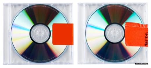 kanye CD clear cases