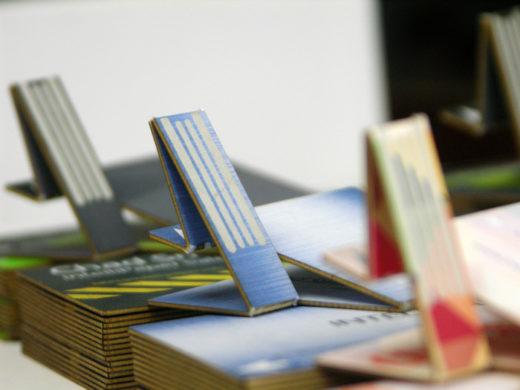 Swivelcard USB Business Card cardboard