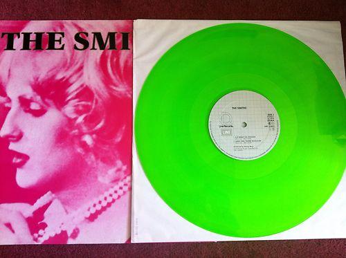 neon vinyl record the smiths