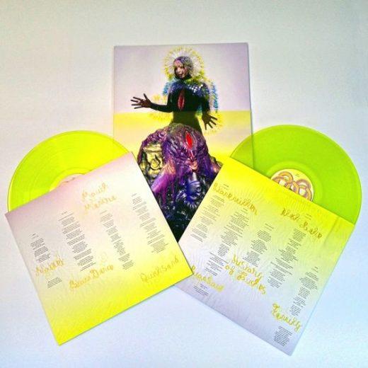 TOXIC HOLOCAUST neon vinyl