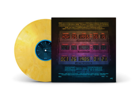 vinyl record soundtrack back to the future