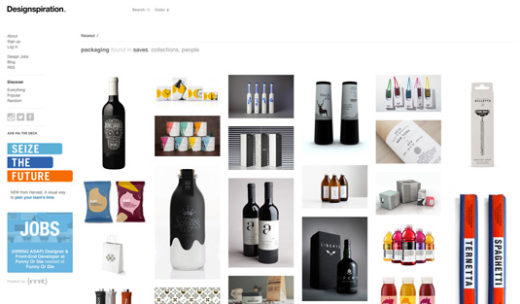 Packaging Design website