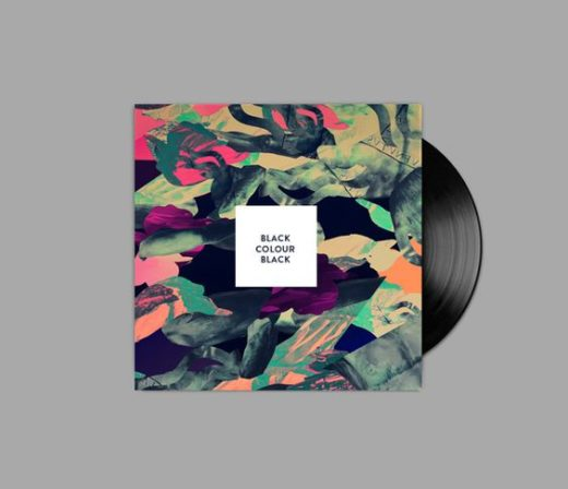 Black Vinyl Records design