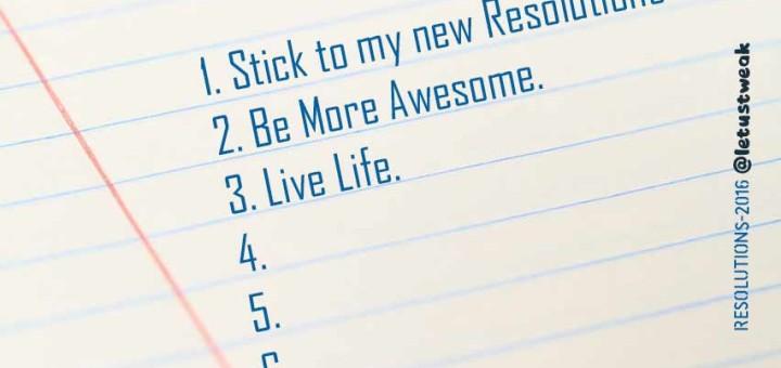 resolution for musician