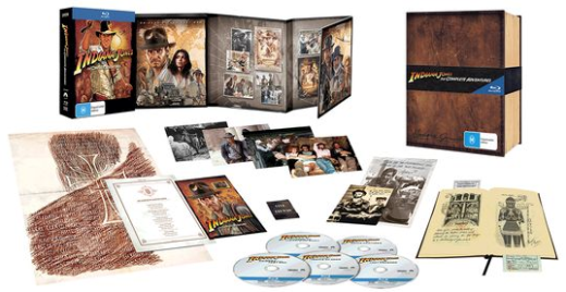 dvd box set Indiana Jones