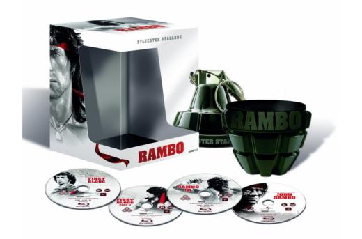 dvd box set Rambo