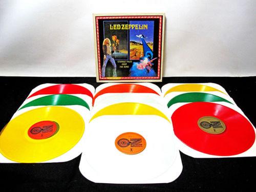 Vintage Led Zeppelin vinyl