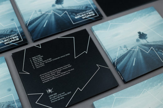 Urbanski, music packaging, cd packaging, cd package,, Music Packaging of the Week: Urbanski- Selected Works