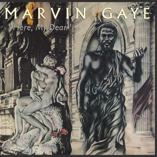vinyl record sleeve marvin gaye