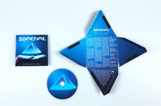 CD Packaging pyramid shape SOMETIME- ACID MAKE-OUT