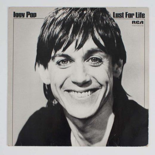Vinyl Record Sleeves iggy pop