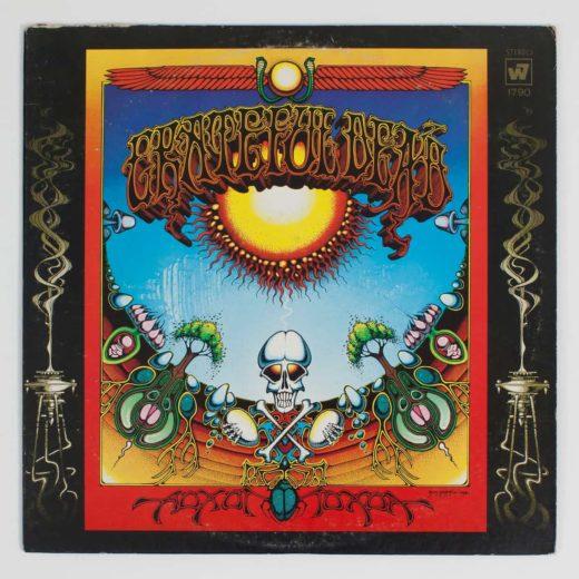Vinyl Record Sleeves grateful dead