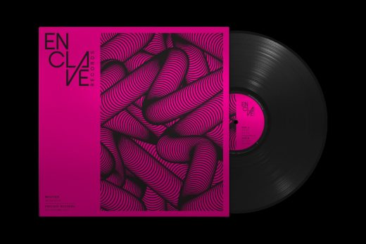 Vinyl Packaging: Enclave Records neon pink