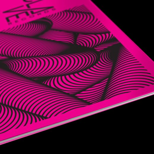 vinyl packaging, Vinyl Packaging: Enclave Records (Neon and Black Combo)