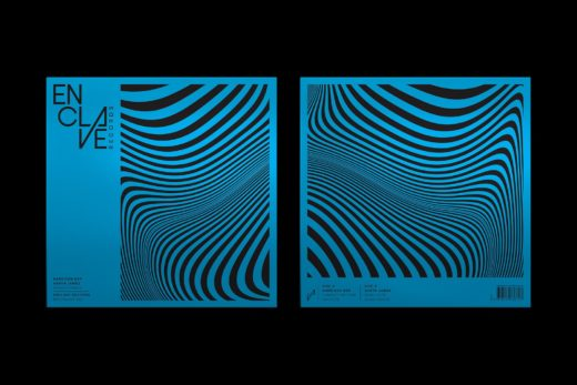 Vinyl Packaging: Enclave Records blue