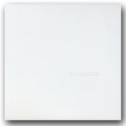 Vinyl Record Sleeves Beatles White Album