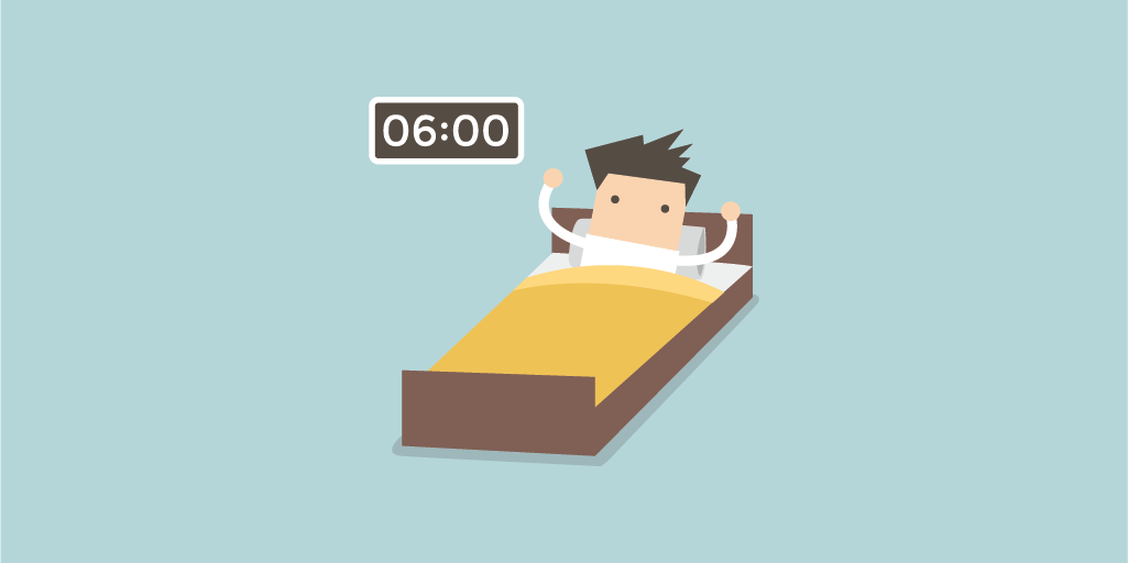 routines of creative people: wake up early