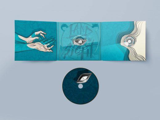 CD Packaging: Land in Sicht by Oomph! digipak