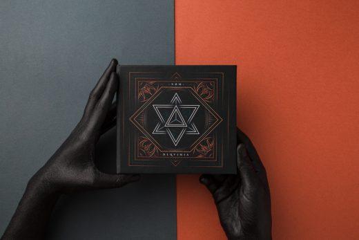 CD Packaging: ALQVIMIA by NØM artwork