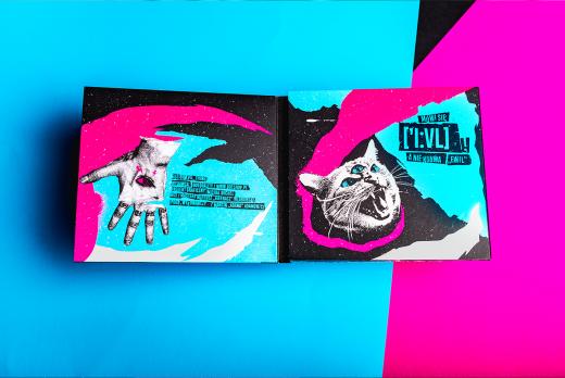CD Packaging, CD Packaging: Guzior – Evil Things Digipak