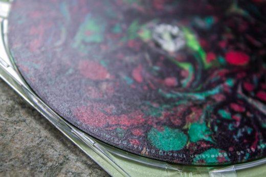 CD label Fallen Titans- Apex