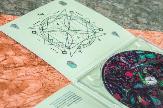 CD packaging, CD Packaging: Fallen Titans- Apex