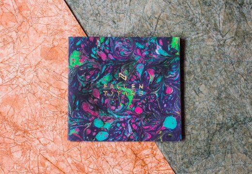 CD Packaging: Fallen Titans- Apex foil print