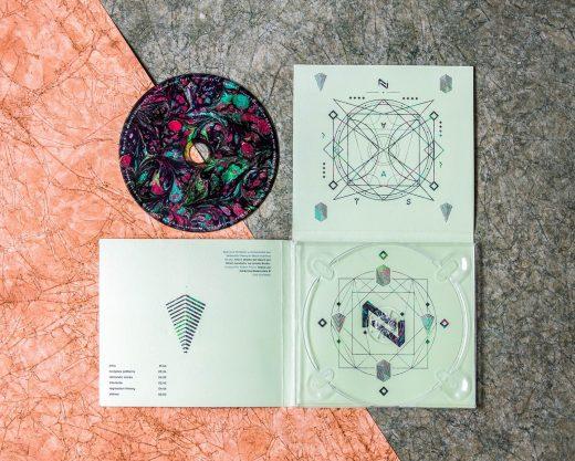 CD Packaging: Fallen Titans- Apex case digipak