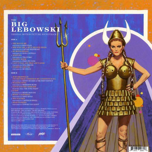 vinyl packaging, Vinyl Packaging: Big Lebowski Soundtrack