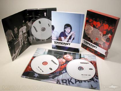 MultiDisc CD digipak Towncraft