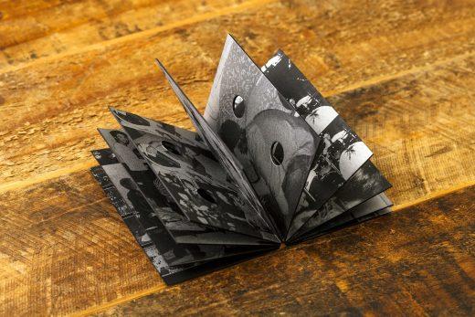 Music Packaging: Zarahn tape artwork