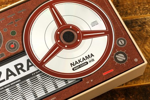 Music Packaging: Nakama- Endy Chow cassette