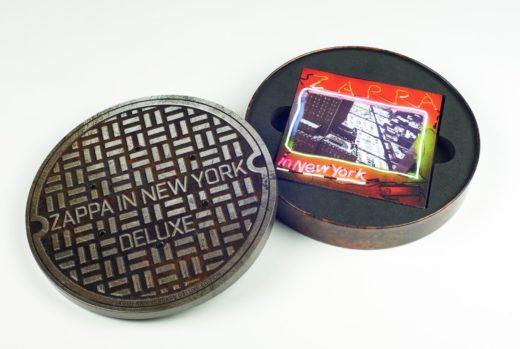CD Packaging Zappa in New York CD