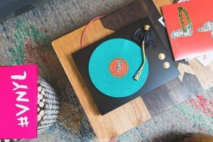 Music marketing: Vinyl record subscription box