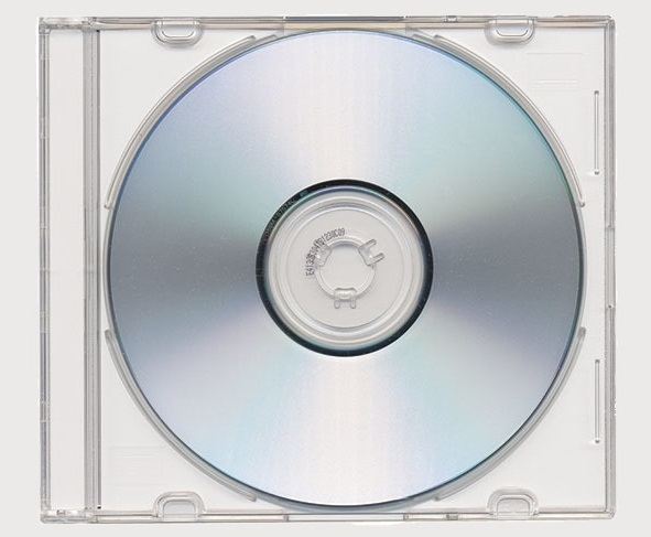Clear CD case