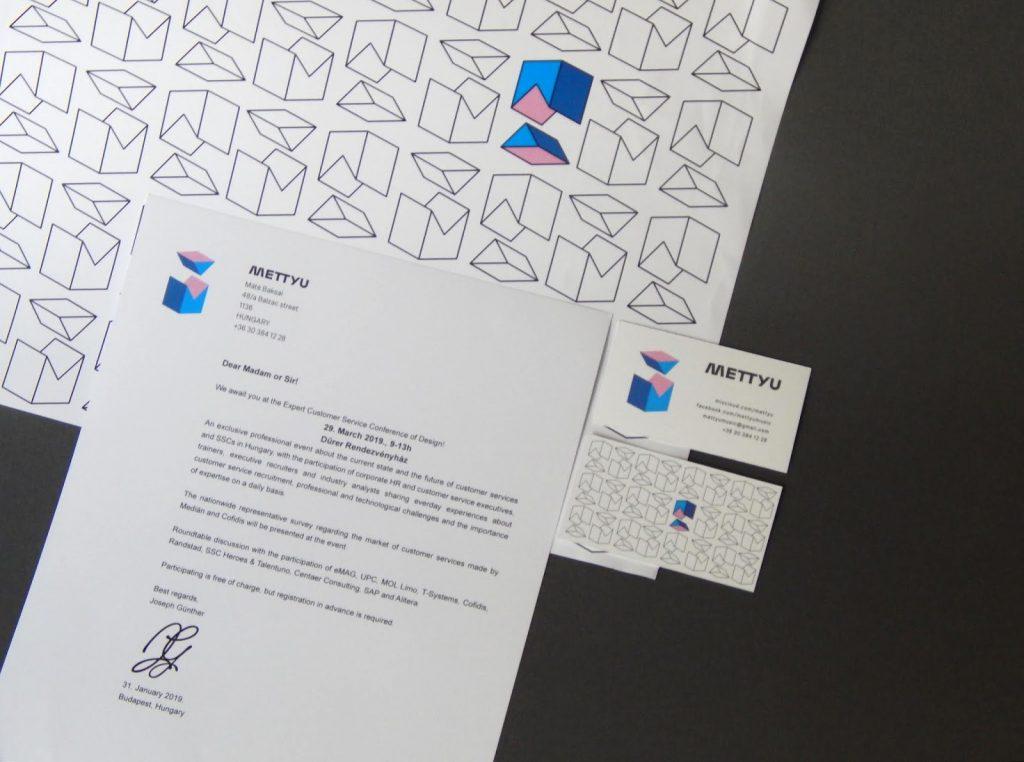Vinyl Packaging: METTYU business card