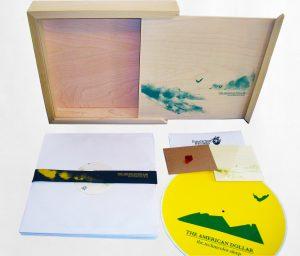 Vinyl Box Sets wooden
