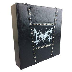 Vinyl Box Sets mayhem leather design