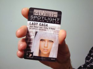Music Download Cards lady gaga