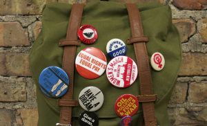 personalized pins and buttons, Do people still wear buttons, pins, and badges?