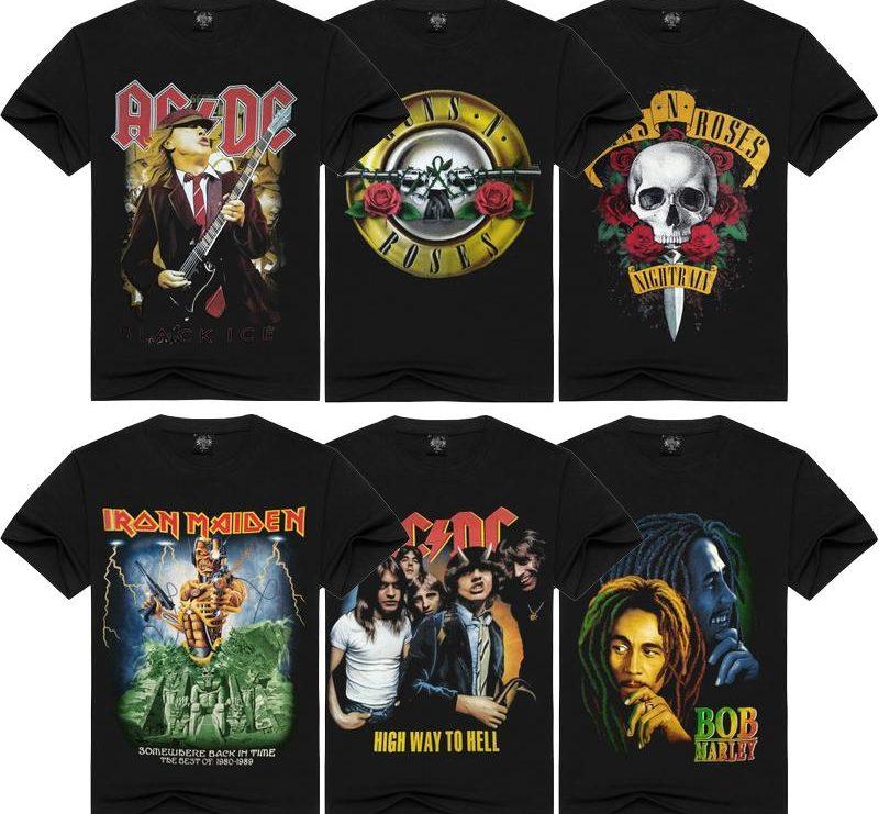 music merch shirts