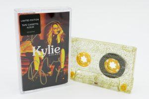 KYLIE MONIQUE- GOLDEN cassette tape