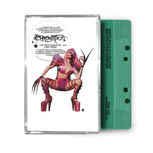 LALA GAGA- CHROMATICA cassette tape